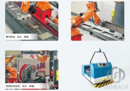 H型钢自动焊接生产线